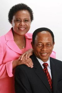 Dr.Joshua Uhiara & Wife Picture