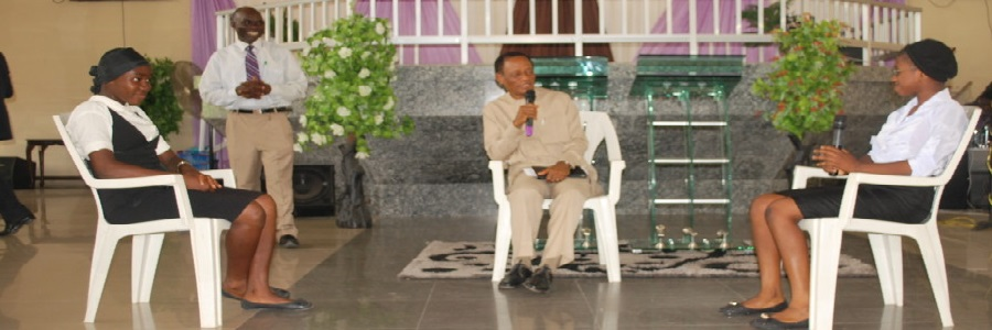 A CONFERENCE BY THE CHILDREN WITH THE PRESIDENT, DR JOSHUA UHIARA