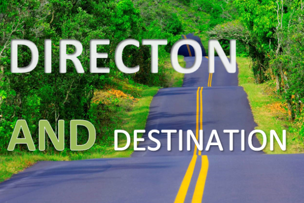 direction and desination