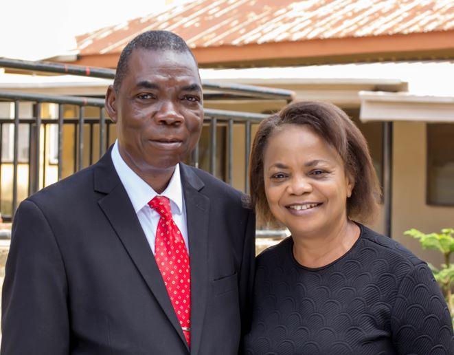 Dr.Joshua Uhiara & Wife Picture