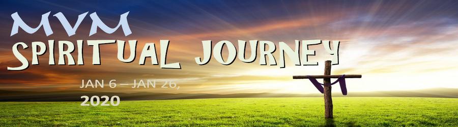 SPIRITUAL JOURNEY JAN 2020